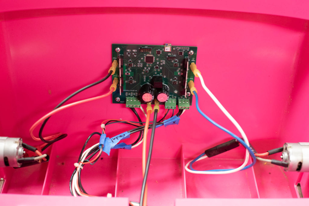 Control Board in Place